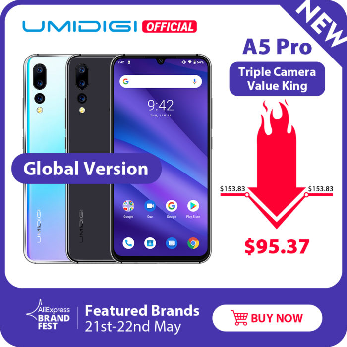 UMIDIGI A5pro