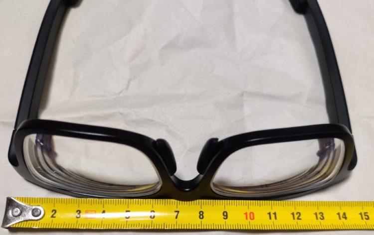 Vue smartglasses front width 145mm-150mm