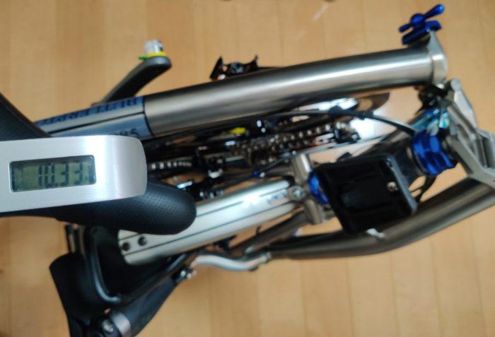 フルチタン執事プトン S10R-X Butler-885 重量10.33kg