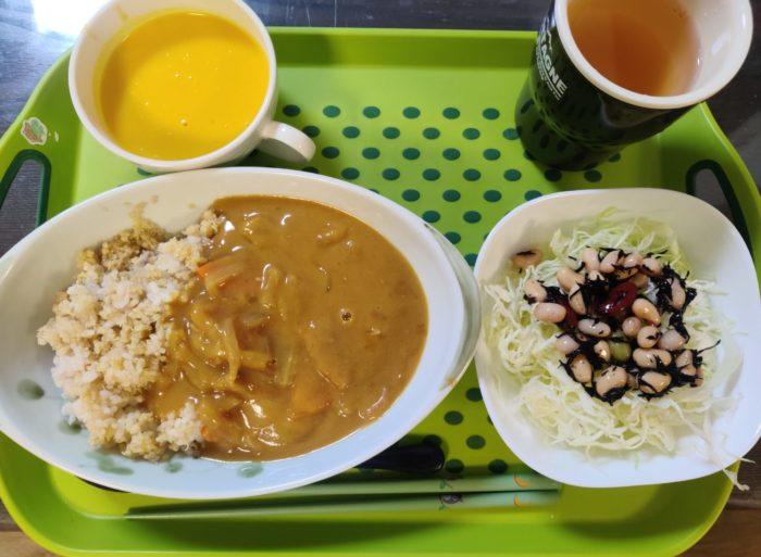 キヌア玄米カレーセット