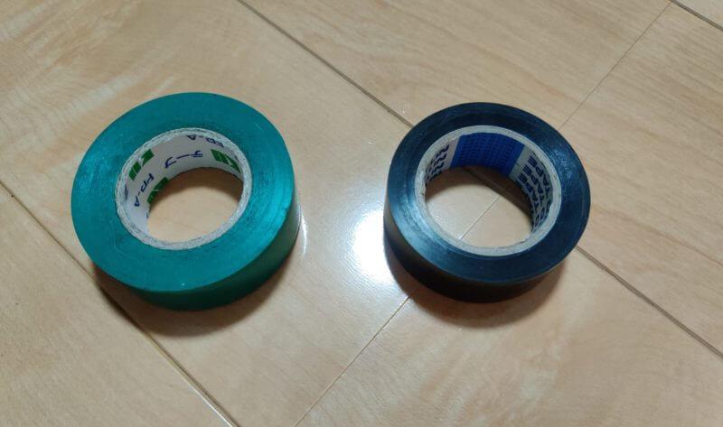 台風対策に使える絶縁テープ