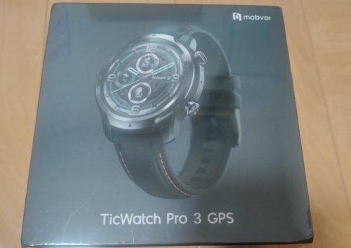 Ticwatchpro3 GPS レビュー