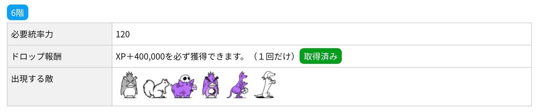 にゃんこ別塔(屍)6階